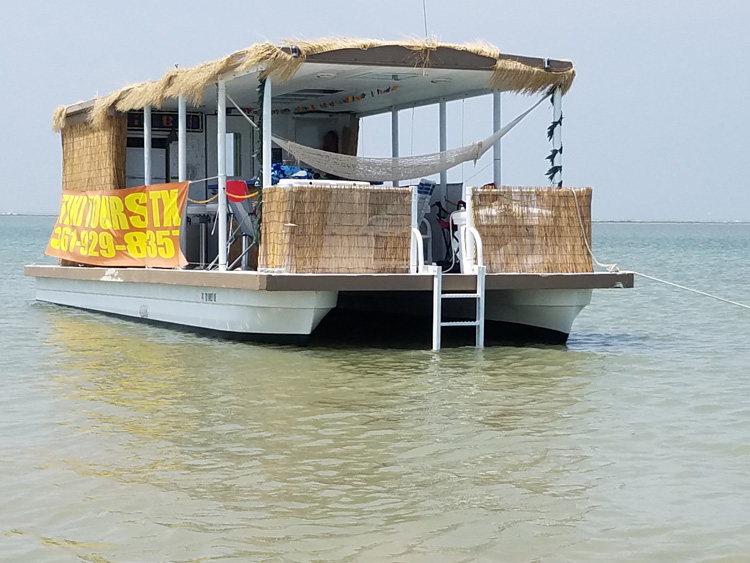Tiki Tours In Port Aransas Texas Dolphin Watch Scenic Boat Tour